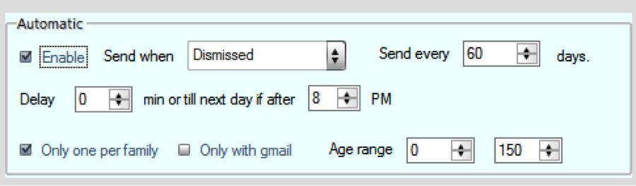 Advanced InstaReview Settings