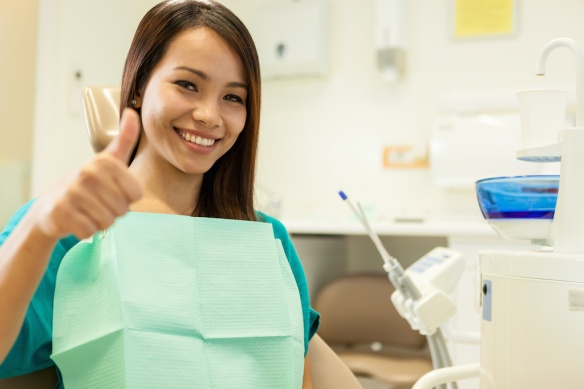 How to Indoctrinate New Patients in Two Step; happy-dental-patient